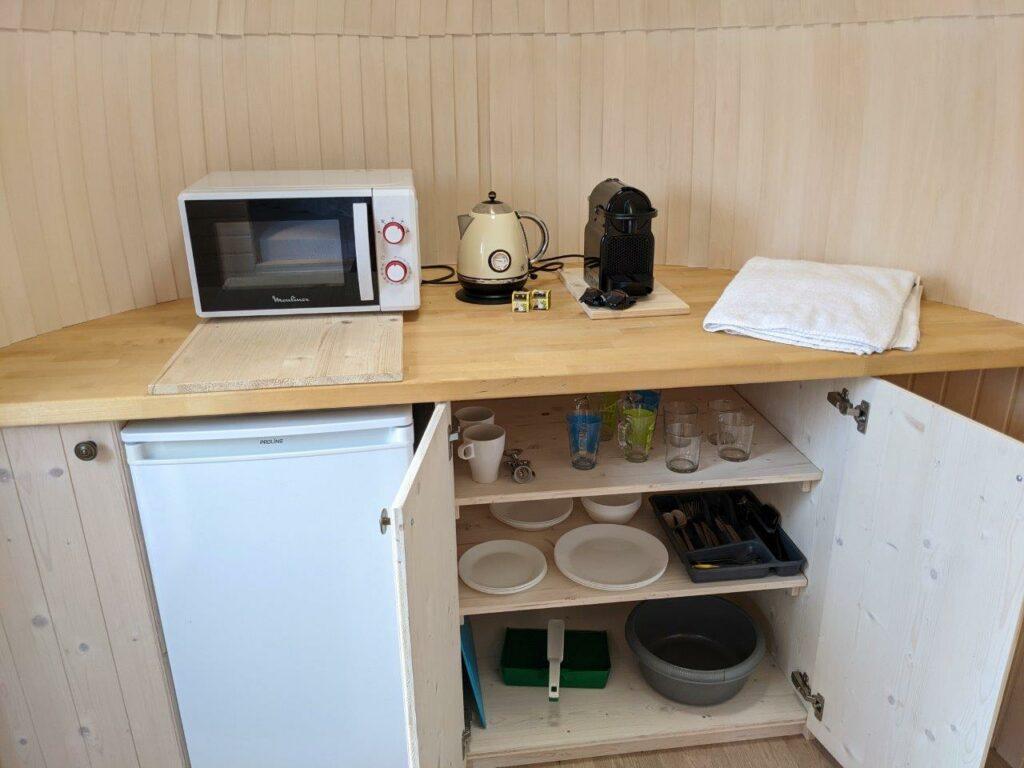 De keuken van de Lijsterbes