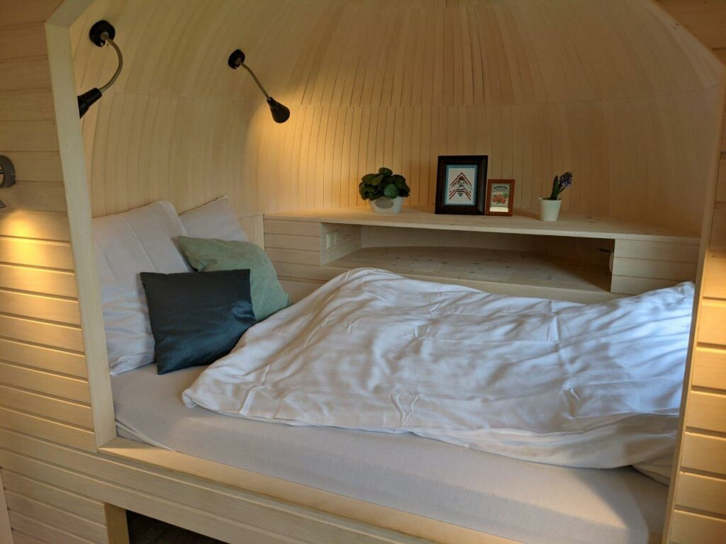 Slaapkamer van de Lijsterbes